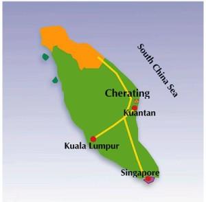 cherating-map
